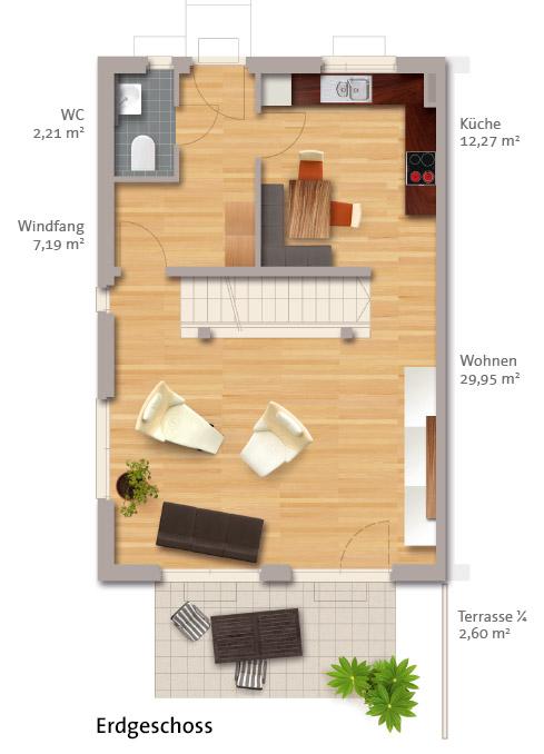 wbg bautr ger typ stella dh. Black Bedroom Furniture Sets. Home Design Ideas