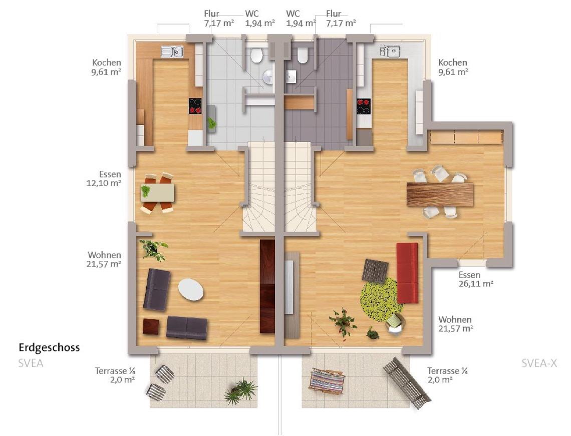 wbg bautr ger typ svea dh. Black Bedroom Furniture Sets. Home Design Ideas